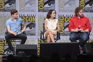 Tye Sheridan Olivia Cooke Comic-Con International 2017 - Warner Bros. Pictures Presentation