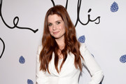 Actress Joanna Garcia Swisher arrives at Tyler Ellis Celebrates 5th Anniversary And Launch Of Tyler Ellis x Petra Flannery Collection at Chateau Marmont on January 31, 2017 in Los Angeles, California.