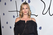 Actress Natasha Henstridge arrives as Tyler Ellis celebrates 5th Anniversary and launch of Tyler Ellis x Petra Flannery Collection at Chateau Marmont on January 31, 2017 in Los Angeles, California.