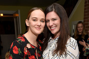 (L-R) Actresses Jess Weixler and Jennifer Lafleur attend Tyler Ellis Celebrates 5th Anniversary And Launch Of Tyler Ellis x Petra Flannery Collection at Chateau Marmont on January 31, 2017 in Los Angeles, California.