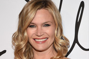 Actress Natasha Henstridge arrives at Tyler Ellis Celebrates 5th Anniversary And Launch Of Tyler Ellis x Petra Flannery Collection at Chateau Marmont on January 31, 2017 in Los Angeles, California.