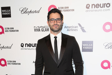 Tyler Hoechlin Arrivals at the Elton John AIDS Foundation Oscars Viewing Party — Part 4