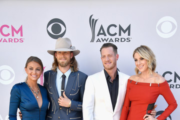 Tyler Hubbard Hayley Stommel 52nd Academy of Country Music Awards - Arrivals