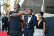 (L-R) Idris Elba, Tyler Perry and Kerry Washington attend as Tyler Perry is honored with a Star on the Hollywood Walk of Fame on October 01, 2019 in Hollywood, California.