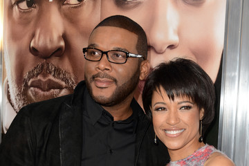 Tyler Perry Tina Gordon Chism Arrivals at the 'Peeples' Premiere in Hollywood
