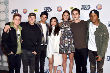 Tyler Posey Dylan O'Brien MTV 'Teen Wolf' Los Angeles Premiere Party - Arrivals