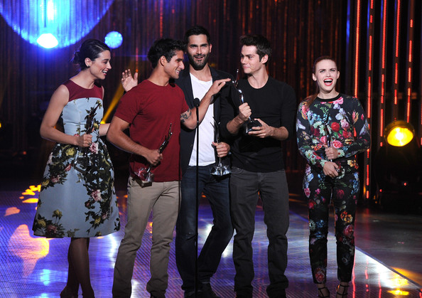 Tyler Posey and Holland Roden - 2013 Young Hollywood Awards Presented By Crest 3D White And SodaStream / The CW Network - Show