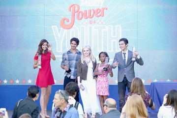 Tyler Posey Quvenzhane Wallis Variety's Power Of Youth Presented By Hasbro And GenerationOn - Inside