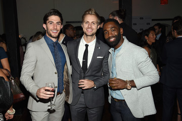 Tyler Stewart GQ Gentlemen's Fund Cocktail Reception + Awards Ceremony