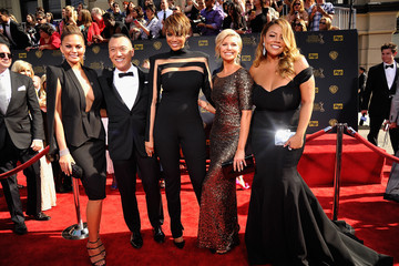 Tyra Banks Chrissy Teigen The 42nd Annual Daytime Emmy Awards - Red Carpet