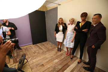 Tyra Banks Behind The Scenes Of The Getty Images Portrait Studio Powered By Samsung Galaxy At 2015 Summer TCA's