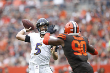 Tyrod Taylor Baltimore Ravens vs. Cleveland Browns
