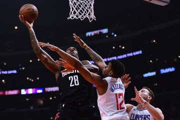 Tyrone Wallace Houston Rockets v Los Angeles Clippers