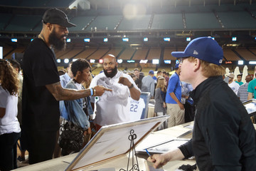 Tyson Chandler Clayton Kershaw's 5th Annual Ping Pong 4 Purpose Celebrity Tournament
