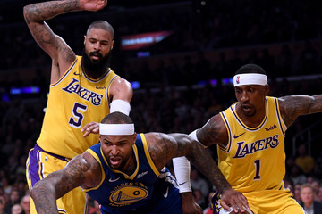 Tyson Chandler Golden State Warriors v Los Angeles Lakers