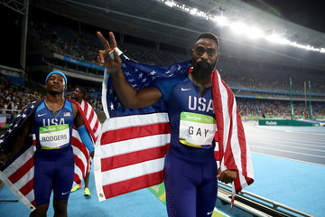 Tyson Gay Athletics - Olympics: Day 14