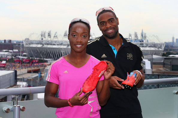 Tyson Gay (FREE FOR EDITORIAL USE) Kelly-Anne Baptiste of Trinidad and ...