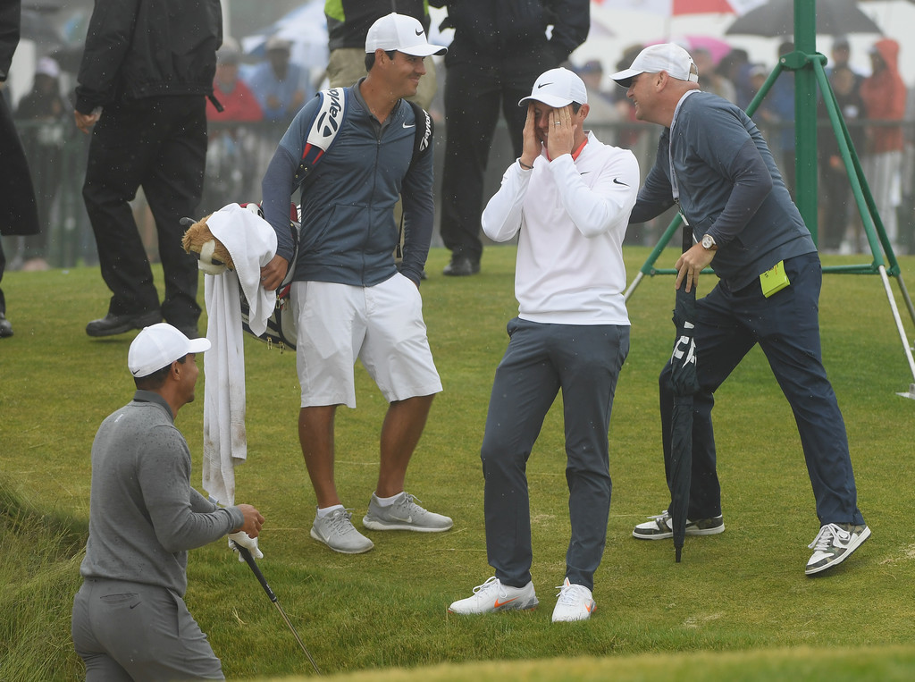 Tiger Woods Rory Mcilroy Justin Rose Jack Nicklaus Tiger Woods And Rory Mcilroy Photos Zimbio