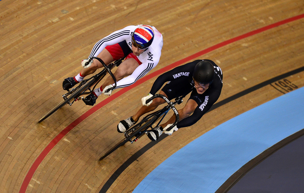 Jason Kenny in UCI Track Cycling World Championships