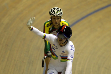 Olga Panarina UCI Track Cycling World Cup Classic in Manchester - Day Two