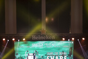Fans await the arrival of Heineken Ambassador Ruud Van Nistelrooy during the UEFA Champions League Trophy Tour presented by Heineken on April 4, 2018 in Phnom Penh, Cambodia.