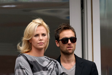 Charlize Theron Stuart Townsend US Open Day 14