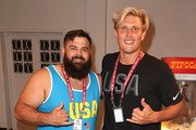 U.S. Olympians Robby and Jesse Smith attend the USA House at Colegio Sao Paulo on August 5, 2016 in Rio de Janeiro, Brazil.