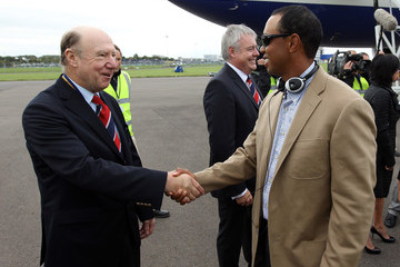 John Jermine USA Team Arrival at Cardiff Airport - 2010 Ryder Cup
