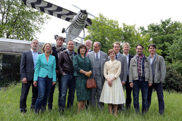 Ulrich Tukur 'Grzimek' Set Visit in Germany