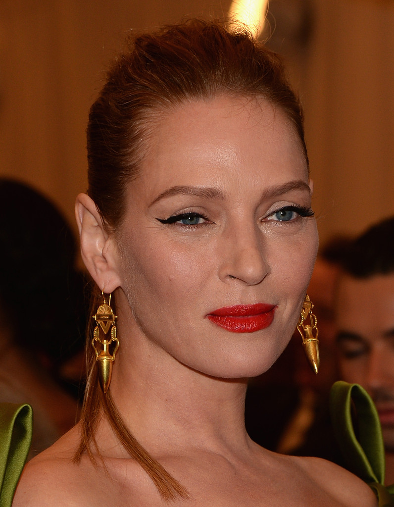 Uma Thurman - Red Carpet Arrivals at the Met Gala