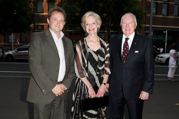 Quentin Bryce Michael Bryce Uncle Vanya Opening Night In Sydney