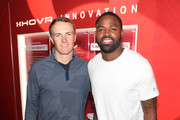Athletes Jordan Spieth and Torrey Smith attend Under Armour's UA HOVR House LA - Media and Influencer Event on February 14, 2018 in Los Angeles, California.