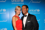 Hilary Quinlan and Bryant Gumbel attend the Unicef SnowFlake Ball at Cipriani 42nd Street on November 27, 2012 in New York City.