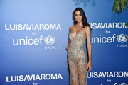Sofia Resing attends the photocall at the Unicef Summer Gala Presented by Luisaviaroma at  on August 09, 2019 in Porto Cervo, Italy.