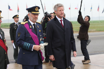 Pieter De Crem 'Unified Protector' Closing Ceremony And Awards Hosted By Prince Philippe Of Belgium