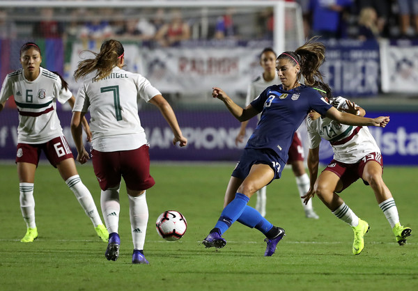 United States vs. Mexico: Group A - CONCACAF Women's Championship