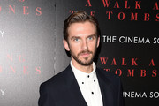 Actor Dan Stevens attends the Universal Pictures and Cross Creek Pictures with The Cinema Society screening of 'A Walk Among the Tombstones' at Chelsea Bow Tie Cinemas on September 17, 2014 in New York City.