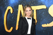 Vanessa Ray attends The World Premiere of Cats, presented by Universal Pictures on December 16, 2019 in New York City.