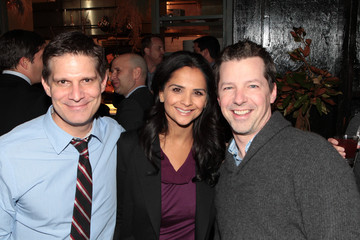 Sean Hayes Todd Milliner Universal Television Re-Naming Party