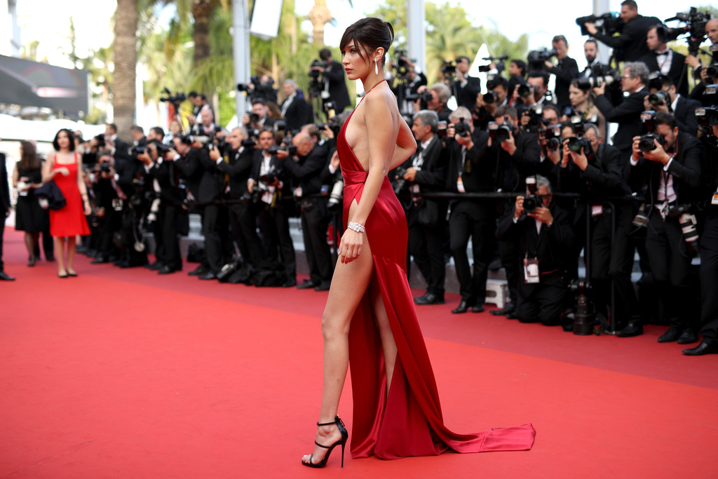 The most naked red carpet dresses