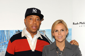 """Tory Burch Unveiling Of The """"Building Bounty-ful Bridges"""" National Arts Mural"""