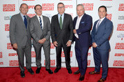 (L-R) Dan Mannix, Dr. David Colbert,  Scott Smith, Nick Wood, and Matt Grandis attend the Up2Us Sports 2019 Gala to celebrate The Healing Power of Sports on May 29, 2019 in New York City.