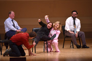 (L-R) Ian Roberts, Matt Besser, Rachel Dratch, Amy Poehler and Horatio Sanz perform onstage during ASSSSCAT with the Upright Citizens Brigade Live at Carnegie Hall celebrating the 20th Anniversary of Del Close Marathon on June 28, 2018 in New York City.