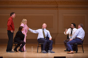 (L-R) Matt Besser, Rachel Dratch, Amy Poehler, Matt Walsh, Horatio Sanz and Ian Roberts perform onstage during ASSSSCAT with the Upright Citizens Brigade Live at Carnegie Hall celebrating the 20th Anniversary of Del Close Marathon on June 28, 2018 in New York City.