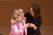 Amy Poehler and Tina Fey perform onstage during ASSSSCAT with the Upright Citizens Brigade Live at Carnegie Hall celebrating the 20th Anniversary of Del Close Marathon on June 28, 2018 in New York City.
