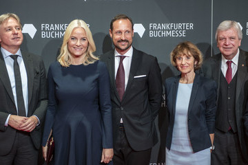 Ursula Bouffier Crown Prince And Crown Princess Of Norway Visit The Frankfurt Book Fair