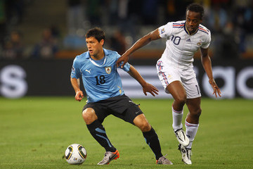 Sidney Govou Uruguay v France: Group A - 2010 FIFA World Cup