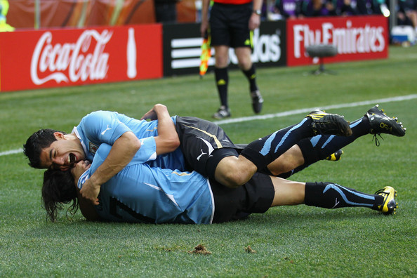 Suarez the hero as Uruguay progress past South Korea