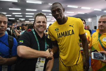 Usain Bolt Photographer Meets Usain Bolt After 'Smiling Bolt' Image Goes Viral