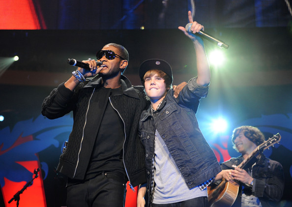 pics of justin bieber 2009. Usher and Justin Bieber
